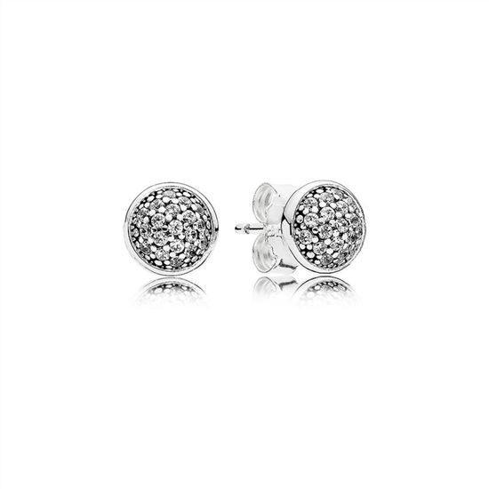 814b5a186 Pandora Dazzling Droplets Stud Earrings, Clear CZ 290726CZ, Pandora Earrings,  Authentic Pandora Earrings