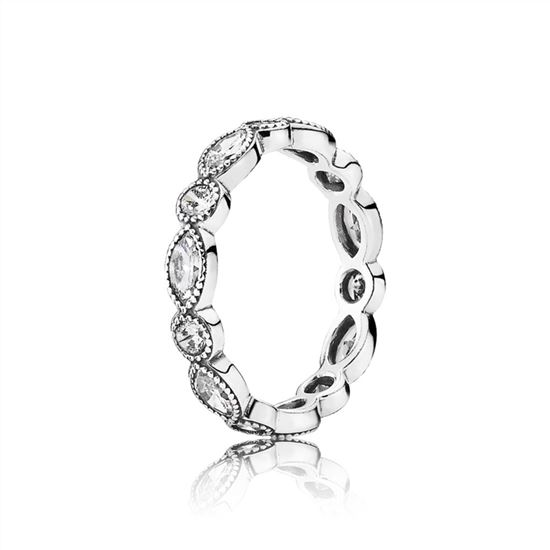 0154b5390 Pandora Alluring Brilliant Marquise Stackable Ring, CZ 190940CZ, Pandora  Jewelry, Authentic Pandora Earrings