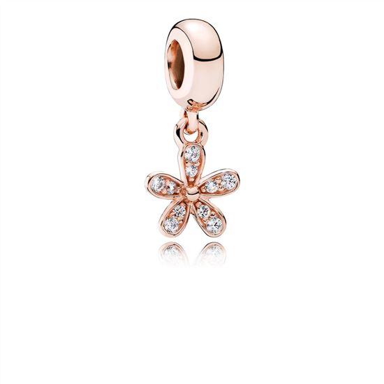 a69bc5675 Pandora Dazzling Daisy, PANDORA Rose & Clear CZ 781491CZ, Pandora Earrings,  Authentic Pandora Earrings