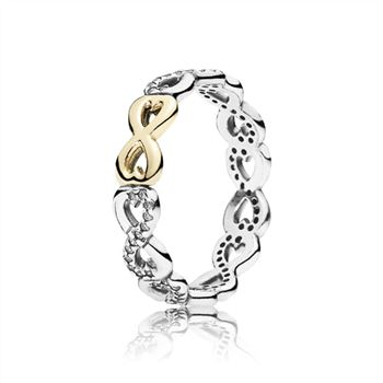 Pandora Infinite Love Stackable Ring, Clear CZ 190948CZ