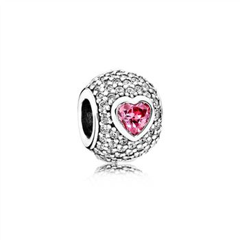 Pandora Captivating Pave Heart Charm 791815CZS